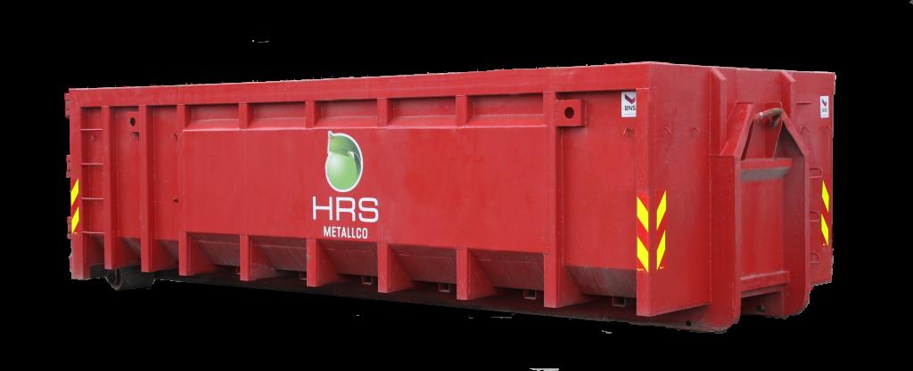 Bilde av rød container