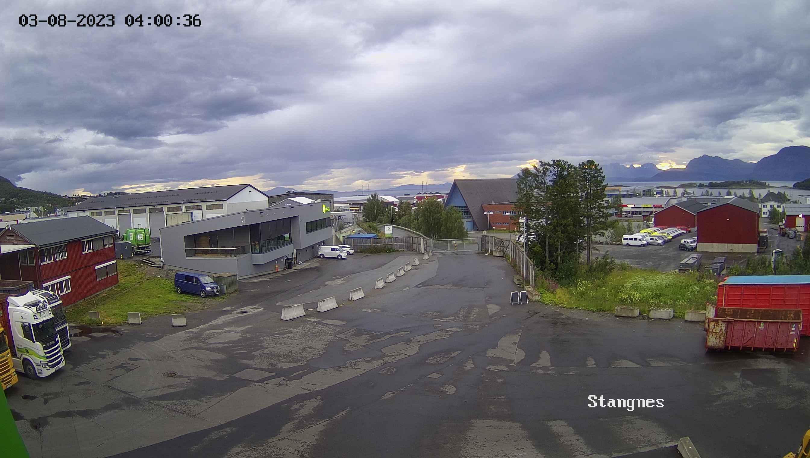 Webkamera bilde stangnes miljøpark